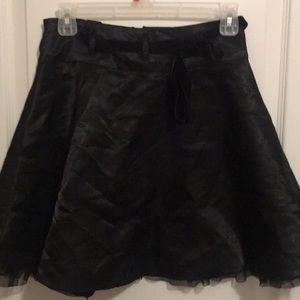 🌷Limited too size 12 black Skirt